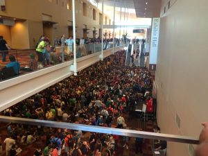 Opening day Gen Con 2015